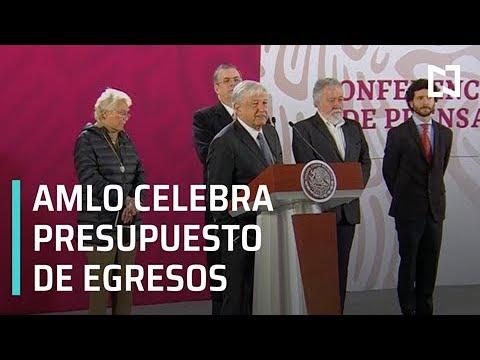 AMLO celebra aprobación del Presupuesto de Egresos 2019 - Estrictamente Personal
