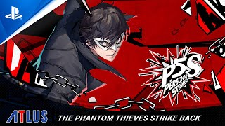 Persona 5 Strikers – The Phantom Thieves Strike Back Trailer | PS4