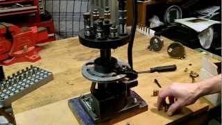 Ponsness Warren Metalmatic P-200, an uncommon pistol reloading press