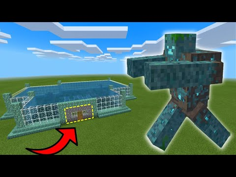MCPE: How To LIVE INSIDE a MUTANT DROWNED FARM (Minecraft ...