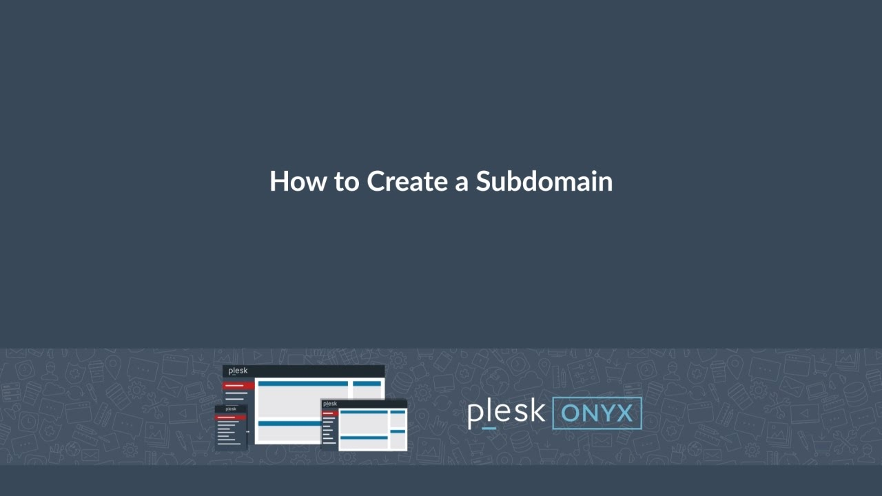 Adding Subdomains