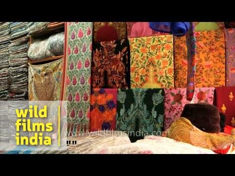 Kashmiri Handicrafts For Sale At A Shop In Jammu Youtube