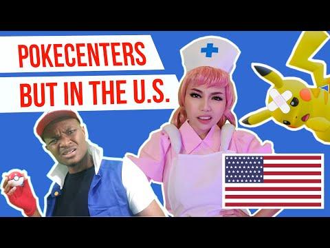 If Pokémon Centers had U.S. Healthcare