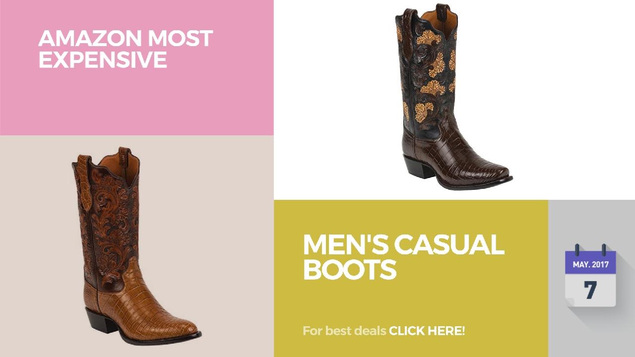 661c223e272 Men's Casual Boots Amazon Most Expensive