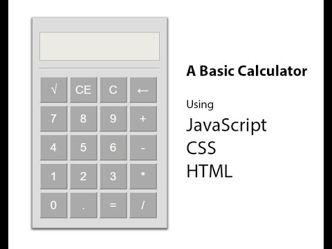 JavaScript Calculator Part 1 (Bangla)