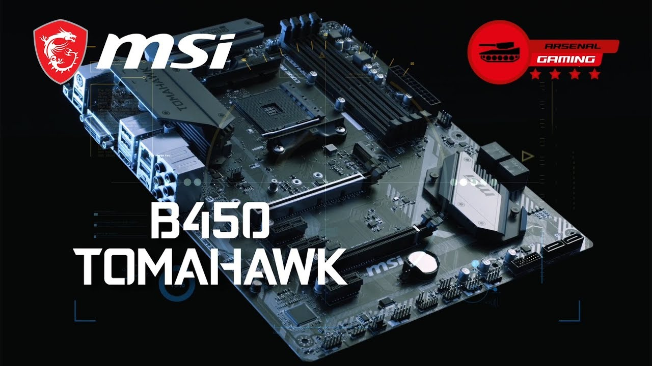 b450 tomahawk motherboard the world leader in motherboard design msi global [ 1280 x 720 Pixel ]