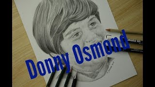 SPEEDDRAWING // Donny Osmond