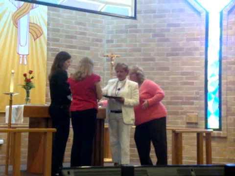 Saint Andrew Lutheran Church Receiving Communion