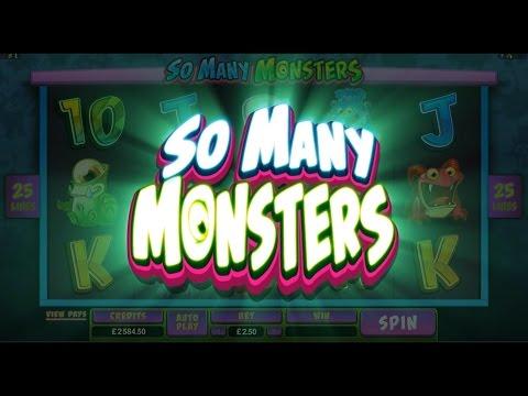 Microgaming So Many Monstors Online Slot Game