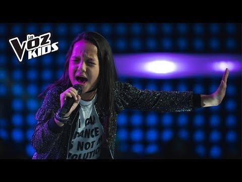 Maleja Canta Veo, Veo - Audiciones A Ciegas | La Voz Kids Colombia 2018