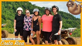 COSTA RICA JOUR 5 : ON FAIT DU 4 ROUES | 99VLOGS