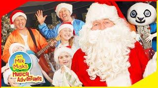 Its Christmas Time | The Mik Maks visit The Big Christmas Shop | Christmas Songs