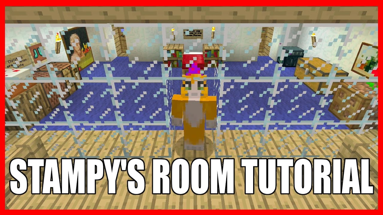 how to build stampy in minecraft