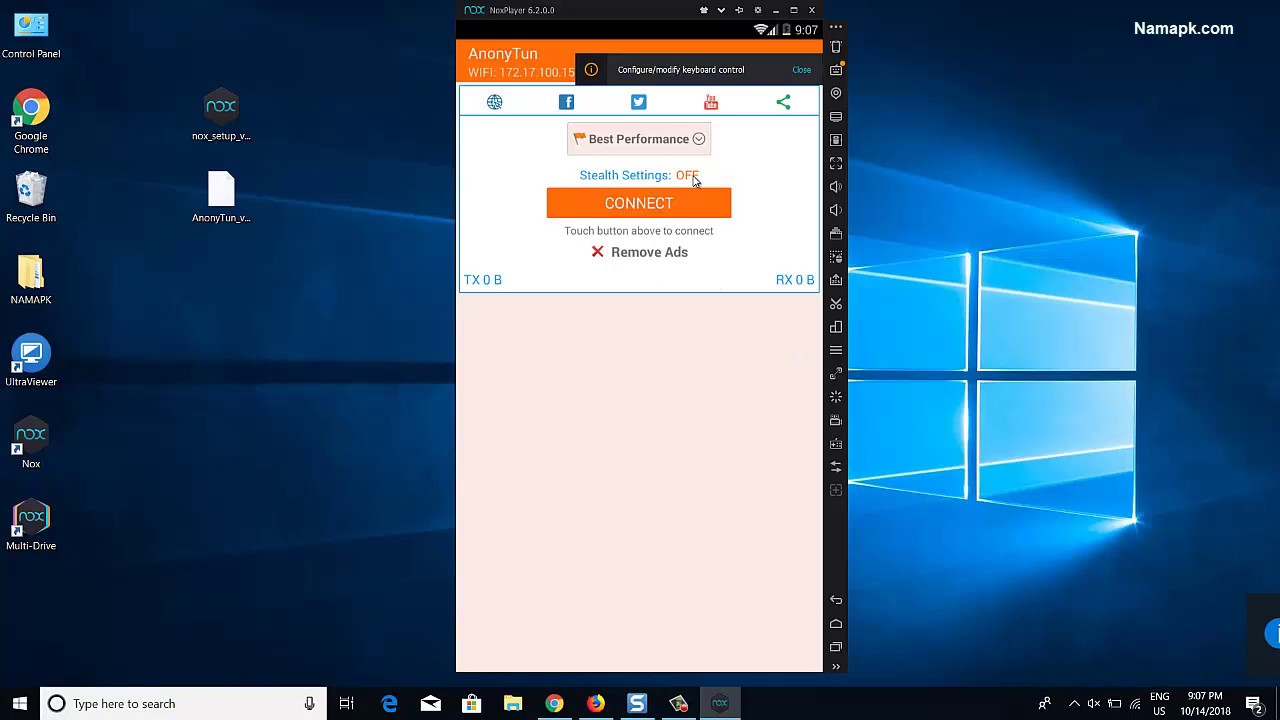 How To Install Anonytun Vpn For Pc Laptop Windows 10 8 7