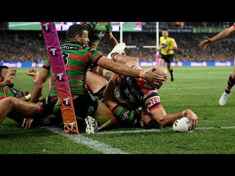 NRL Highlights: Sydney Roosters v South Sydney Rabbitohs - Preliminary Final