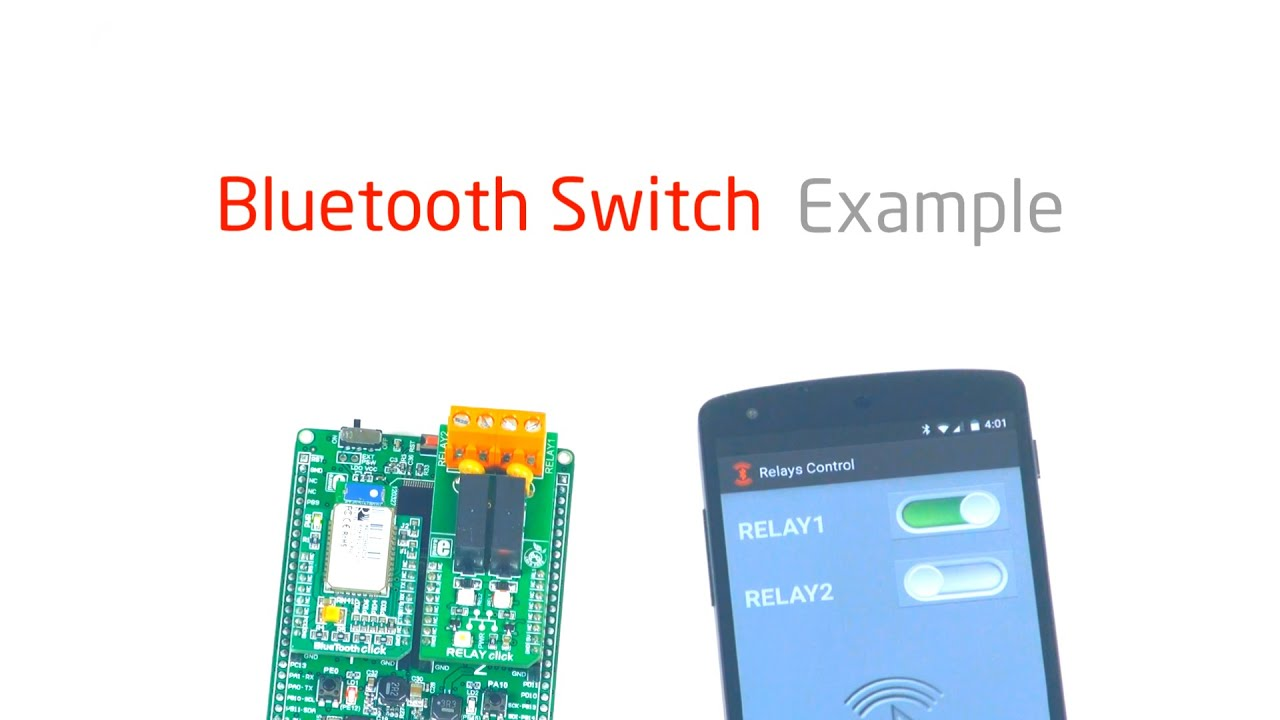 Bluetooth Switch Example Youtube Relay