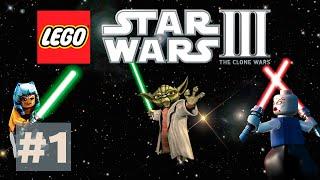 LEGO Star Wars 3: TCW Прохождение #1 Джедаи Гладиаторы