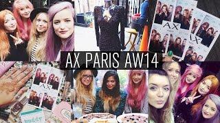 AX Paris AW14 Press Day Vlog | 27.09.14 Thumbnail