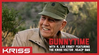 gunnytime with r lee ermey featuring the kriss vector 45acp smg