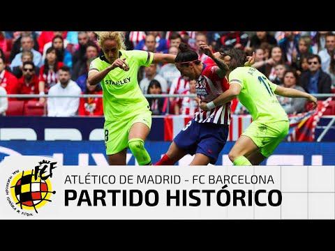 LIGA IBERDROLA |Atlético de Madrid 0 - FC Barcelona 2 thumbnail