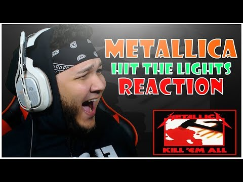 🎤 HipHop Fan Reacts To Metallica  Hit The Lights 🎸