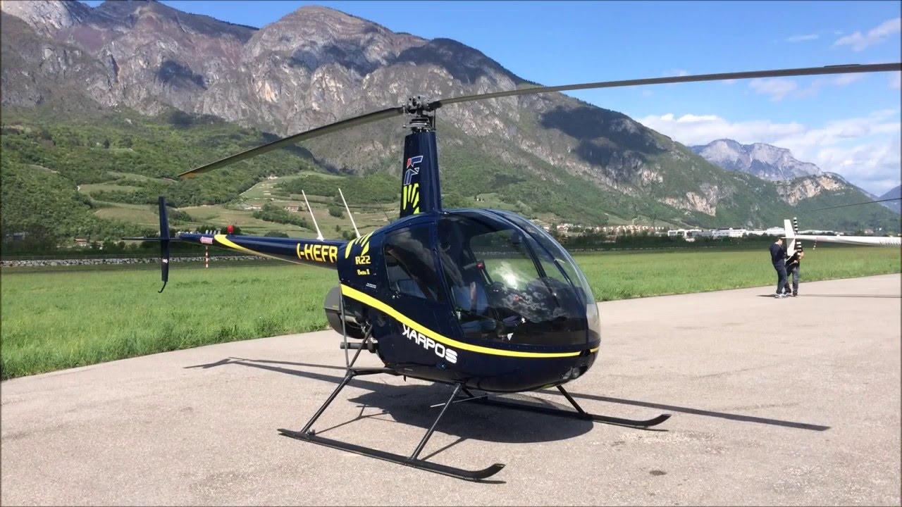 Elicottero R22 : Alberto volo con robinson r youtube