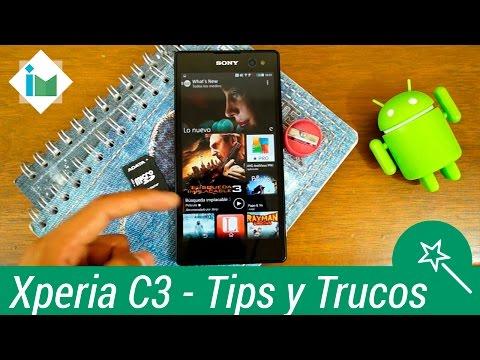 Xperia C3 - Tips y Trucos
