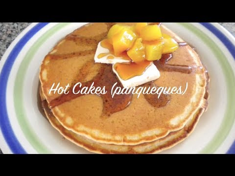 Como Hacer Hot Cakes Receta Facil Youtube