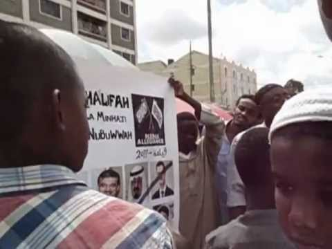 Hizb ut tahrir East Africa calling for Islam and Khilafah