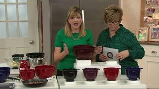 KitchenAid Set of 3 Non-Slip Mixing Bowls on QVC