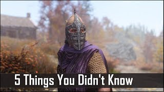 Skyrim: 5 Things You Probably Didn't Know You Could Do - The Elder Scrolls 5: Secrets (Part 6)