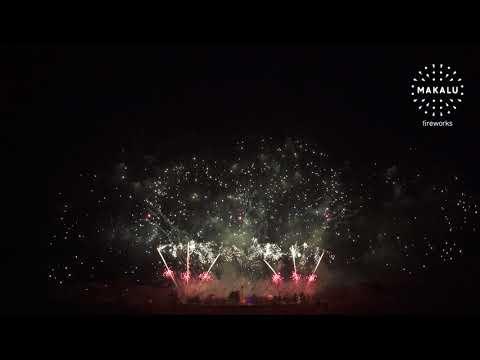 Official - Novoroční ohňostroj Praha 2018 | MAKALU Fireworks