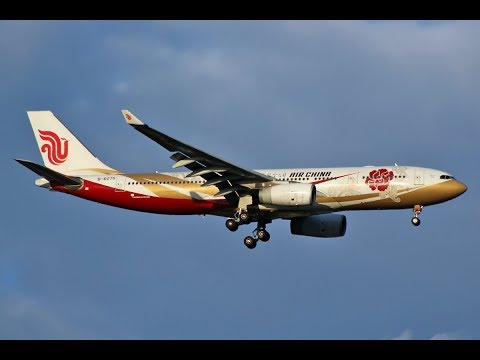 X-Plane 11- IVAO   Airbus A330 - Air China   Peking (ZBAA) to Macao (VMMC)