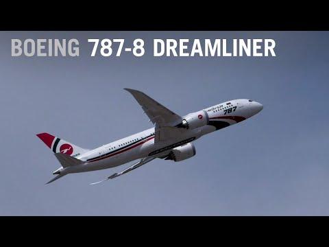 Biman Bangladesh Airlines Boeing 787-8 Dreamliner Flying at Farnborough Airshow – AINtv Express