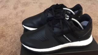 Y3 pure boost zg knit black mens adidas y-3 pureboost