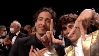 Gros succès à la fin de la projection du film The French Dispatch - Cannes 2021