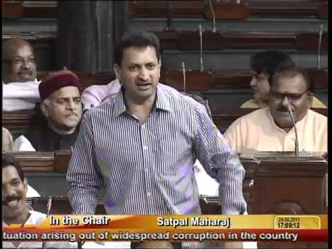 Situation arising out of widespread corruption in the country: Sh. Anant Kumar Hegde: 24.08.2011