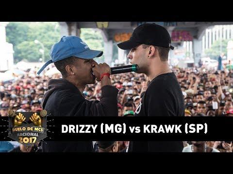Drizzy [MG] vs Krawk [SP] (Semifinal) - DUELO DE MCS NACIONAL 2017
