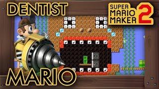 Super Mario Maker 2 - Dentist Mario