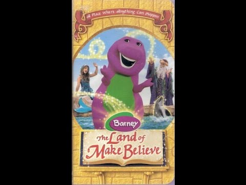 Opening & Closing To Barney:The Land Of Make Believe 2005 VHS thumbnail