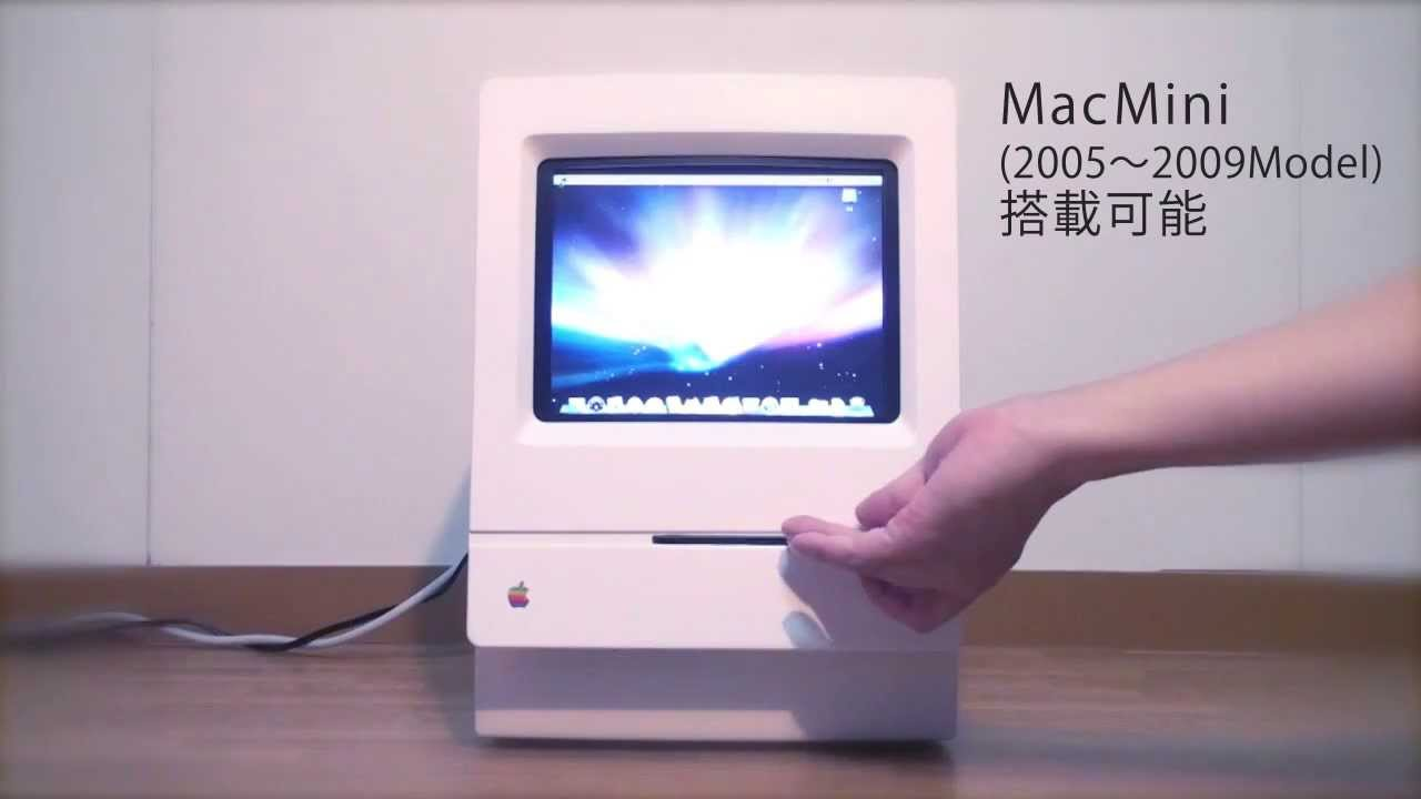 Classic Mac+Mac mini - YouTube