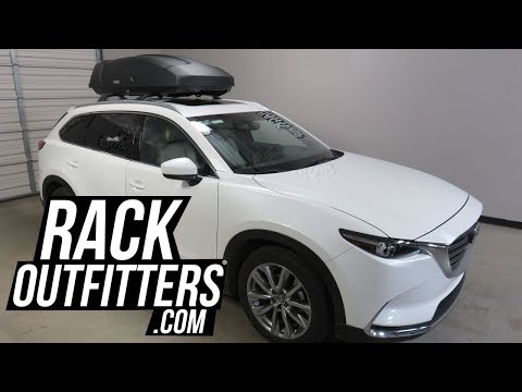 Mazda CX9 with Thule Force XT Large 16 Cubic Foot Cargo Box