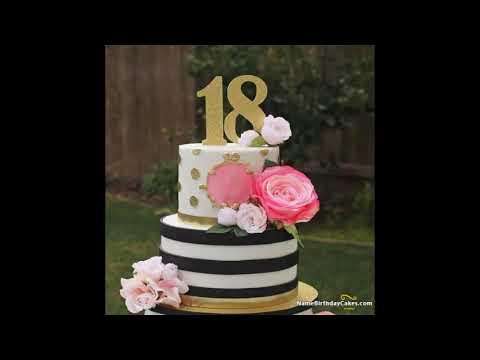18th Birthday Cake Ideas Wish Birthday With Videos Youtube