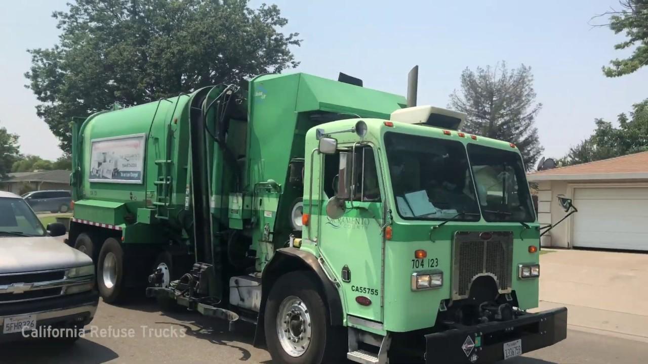 Sacramento County Amrep Garbage Trucks