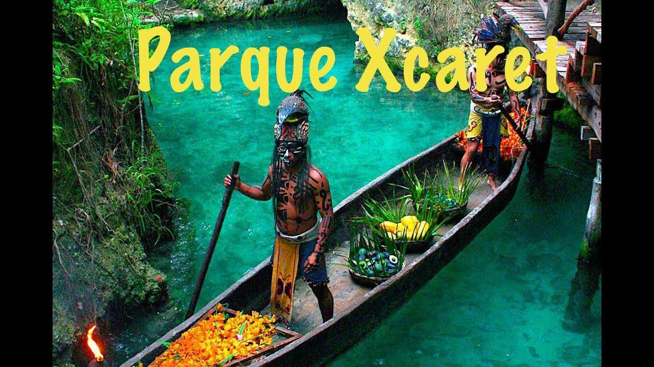PARQUE XCARET, Riviera Maya, Mexico/La rusa mas mexicana