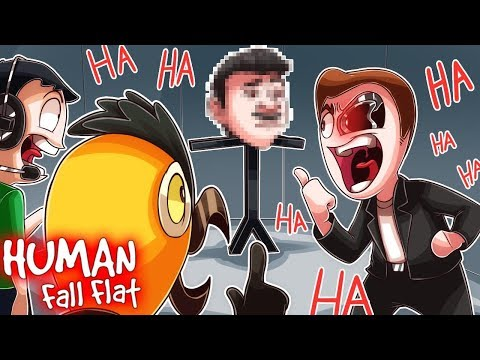 YOU'LL NEVER BELIEVE WHO WE FOUND! (Human Fall Flat Funny Moments)