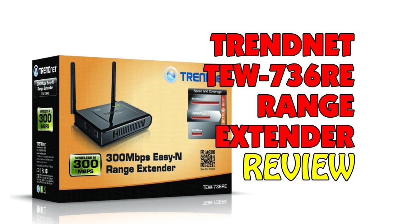 TRENDNET TEW-736RE RANGE EXTENDER DRIVER (2019)