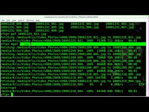 Transferring Files Securely with SCP and SFTP - Linux