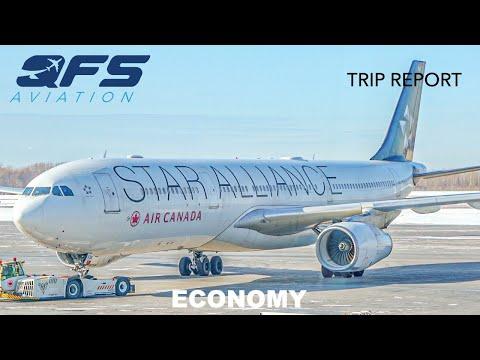 TRIP REPORT | Air Canada - A330 300 - Montréal (YUL) To Toronto (YYZ) | Economy