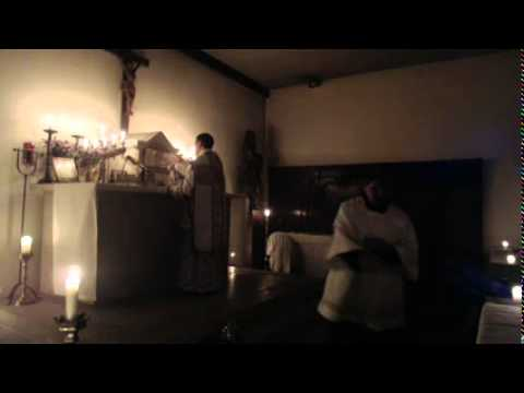 "Golden Mass ""Rorate Caeli"" Ember Wednesday(17/12/2014)"